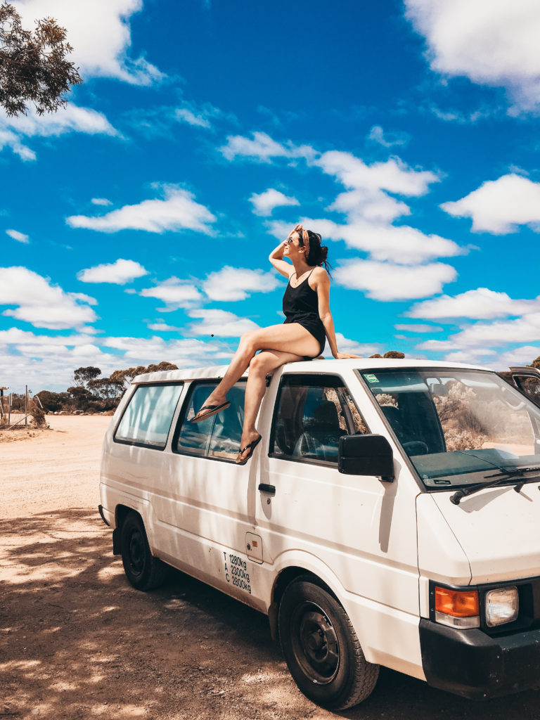 Road-trip Nullarbor Australie